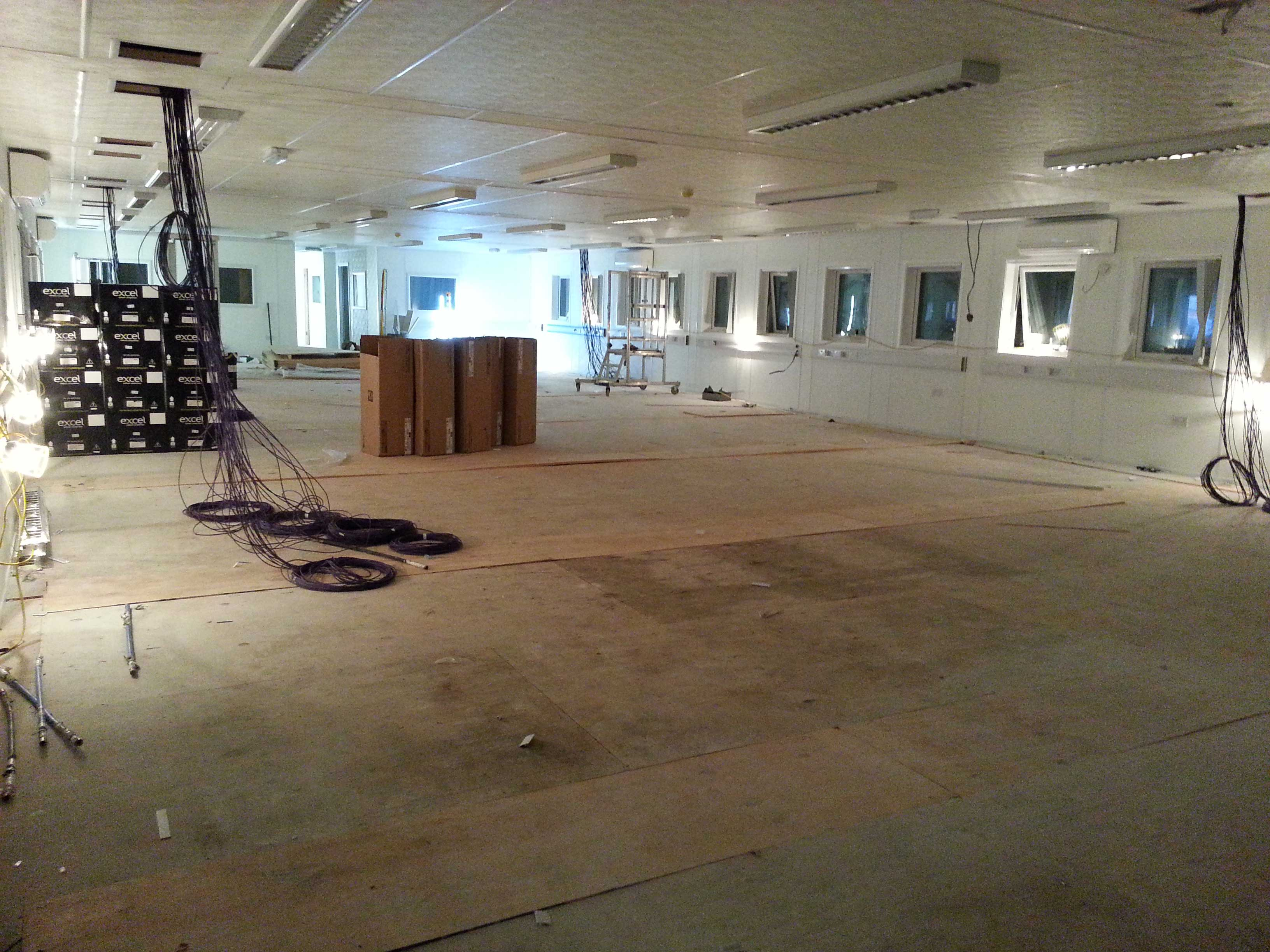 Installation of Open Plan Offices