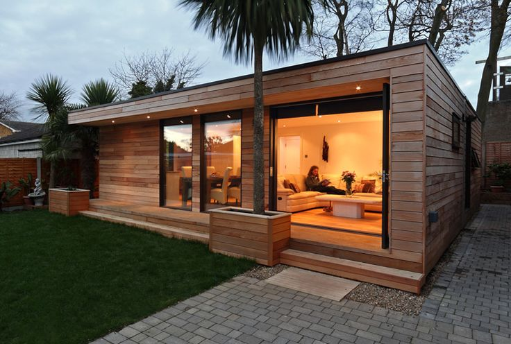 Modular garden pods for Modular garden rooms